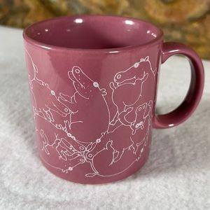 Taylor NG Naughty Hippo Coffee Mug Vintage 1979